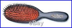 Mason Pearson Pure Bristle Pocket Black Dark Ruby Hair Brush RRP$165