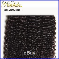 Nadula Malaysian Curly Hair Bundles Wet and Wavy Malaysian Human Hair Extensions