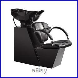New Backwash Shampoo Bowl Sink Chair Unit Station Beauty Salon Equipment W5