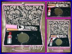 New! Chi Pink Ooh La La Ceramic 1 Hair Styling Flat Iron Straightener Gift Set