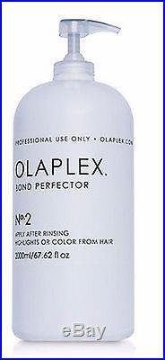 OLAPLEX NO. 2 2 LITRES Professional 2L / 2000ml #2 withPump NEW SEALED ORIGINAL