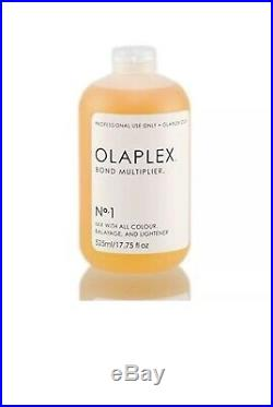 OLAPLEX SALON STEP NO 1 BOND MULTIPLIER 17.75oz SEALED With DOSING DISPENSER