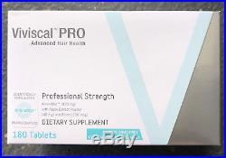ORIGINAL GENUINE Viviscal PRO Professional Hair Growth 180 Tablets 03/21 NEW BOX