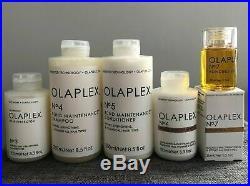 Olaplex #3, #4, #5, #6 & #7 Sealed, Authentic