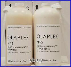 Olaplex No4 + No5 (2000 ML each)