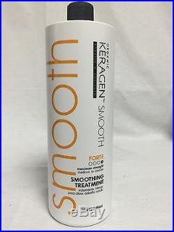Organic Keragen Keratin Smoothing Treatment Forte 32 oz Maximum Strenght