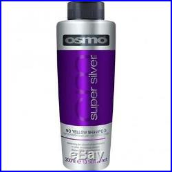 Osmo SUPER SILVER No Yellow Shampoo, Sulpahte Free, Ash Hair Toner 300ml