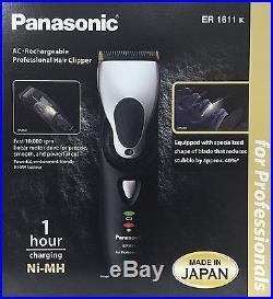 Panasonic ER1611k Tagliacapelli Professionale Spedizione Gratuita 1611 1611K