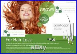 Pantogar Alopecia Pantovigar Hair loss 1 Box of 90 caps cyprus wellness ORIGINAL