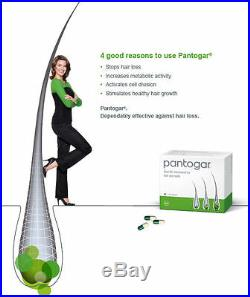 Pantogar Alopecia Pantovigar Hair loss 1 box 90 caps cyprus wellness Original DE