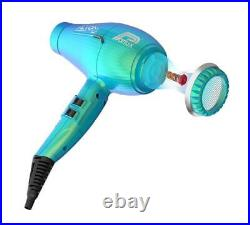 Parlux Alyon Light Air Ionizer Hairdryer Jade New Colour