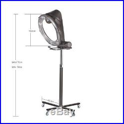 Professional Infrared Orbiting Rollerball Stand Hair Dryer Color Processor Salon