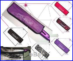 Royale Duet Set-100% Ceramic Hair Straightener & 3P Pro Curler/Wand-Black
