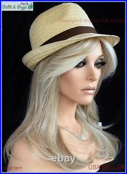 Spotlight Lace Front Heat Friendly Monotop Wig Raquel Welch Color Biscuit