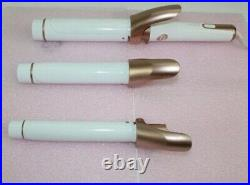 T3 Twirl Trio Curling Iron- 3-Interchangeable Clip Barrels 76583