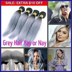 Thick Virgin Remy Human Hair Bundle Wave Straight Curly Closure Valentines Lot