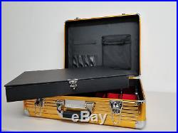 Vincent Master Barber Clipper Tool Case Large (GOLD) VT10142-GD