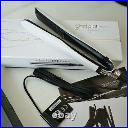 WHITE + Plus 1 Professional Styler Flat Iron Hair Straightener
