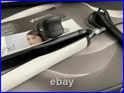 White Platinum + Professional Stylist Flat Iron Hair Straightener GHD